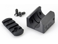 Product detail of Mesa Tactical Barrel Clamp with Picatinny Rail Remington 870, 1100, 11-87, Mossberg 930 12 Gauge Aluminum Matte