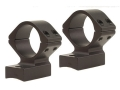 Talley Lightweight 2-Piece Scope Mounts with Integral 1&quot; Rings Winchester 70 Post-64 Matte Low