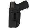"Comp-Tac Infidel Max Inside the Waistband Holster with Infidel Belt Clip 1-1/2"" S&W M&P Compact 9mm, 40 S&W Kydex Black"