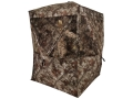Ameristep Harvester Ground Blind 74&quot; x 74&quot; x 82&quot; Polyester Realtree AP Camo