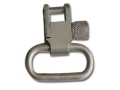 GrovTec Locking Sling Swivels 1&quot; Satin Nickel Plated (1 Pair)