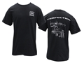 Glock Breakdown T-Shirt Short Sleeve Cotton Black