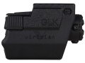 Product detail of Viridian 5mW Green Laser Sight Glock with Rails (except SF) Matte Includes Kydex Holster