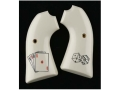 Hogue Grips Ruger Bisley Ivory Polymer Aces/Dice Pattern