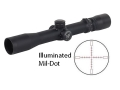 Nightforce NXS Rifle Scope 30mm Tube 2.5-10x 32mm Illuminated Mil-Dot Reticle Matte