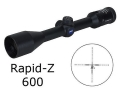 Zeiss Factory Blemished MC Conquest Rifle Scope 3.5-10x 44mm Rapid Z 600 Reticle Matte