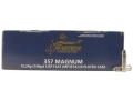 Magtech Shootin&#39; Size Ammunition 357 Magnum 158 Grain Semi-Jacketed Soft Point Flat Nose Box of 250