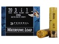 "Federal Speed-Shok Waterfowl Ammunition 20 Gauge 3"" 7/8 oz #1 Non-Toxic Steel Shot Box of 25"