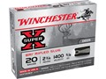 "Winchester Super-X Ammunition 20 Gauge 2-3/4"" 5/8 oz BRI Sabot Slug Case of 250 (50 Boxes of 5)"