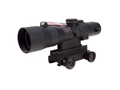 Trijicon ACOG TA33 BAC Rifle Scope 3x 30mm Dual-Illuminated  Reticle with TA60 Flattop Mount Matte