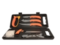 Outdoor Edge Wild-Pak 8-Piece Butcher Kit with Hardcase