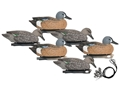 Hard Core Pre-Rigged Blue Wing Teal Duck Decoy Pack of 6