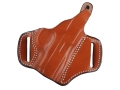 DeSantis Thumb Break Scabbard Belt Holster Right Hand Colt Pocketlite, Mustang, Pony Leather Tan