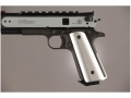 Hogue Extreme Series Magrip Kit 1911 Government, Commander Smooth with Flat Mainspring Housing Aluminum Clear