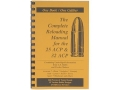 "Loadbooks USA ""25 and 32 ACP"" Reloading Manual"