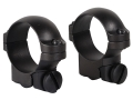 "Leupold 1"" Ring Mounts Ruger 77 Matte Low"