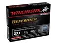 "Winchester PDX1 Defender Ammunition 20 Gauge 2-3/4"" 3/4 oz Segmenting Slug"