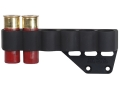 Mesa Tactical Sureshell Shotshell Ammunition Carrier 12 Gauge for Urbino Stock Cheek Rest Left Side 6-Round Aluminum Matte