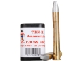 Product detail of Ten-X Cowboy Ammunition 45-120 Sharps 535 Grain Spitzer Flat Point BPC Box of 20