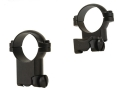 "Leupold 1"" Extended Ring Mounts Ruger 77 Matte Super-High"