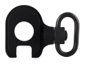 GG&amp;G Quick Detach End Plate Sling Mount Adapter with Heavy Duty Quick Detach Swivel Remington 870, 1100, 11-87 12 Gauge Right Hand Aluminum Matte