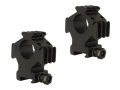 "Product detail of B-Square 1"" Tactical Picatinny-Style Tri-Rings with 3 Picatinny Rails High Matte"