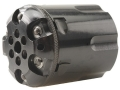 Howell&#39;s Old West Semi Drop In Conversions Drop-In Conversion Cylinder 45 Caliber Ruger Old Army Black Powder Revolver 45 Colt (Long Colt) Fluted 6-Round Blue