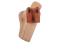 El Paso Saddlery Summer Cruiser Inside the Waistband Holster Right Hand 1911 Government Leather Natural and Russet Brown
