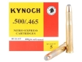 Kynoch Ammunition 500-465 Nitro Express 480 Grain Woodleigh Weldcore Soft Point Box of 5