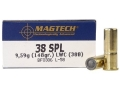 Magtech Sport Ammunition 38 Special 148 Grain Lead Wadcutter Case of 1000 (20 Boxes of 50)