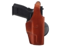 Bianchi 59 Special Agent Holster Right Hand Sig Sauer Pro SP2009, SP2340, P245, Springfield XD9, SA-40 Leather Tan