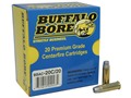 Product detail of Buffalo Bore Ammunition 38 Special 158 Grain Lead Semi-Wadcutter Hollow Point Box of 20