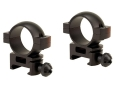 Tasco 1&quot; Weaver-Style Rings Matte High