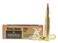 Federal Premium Vital-Shok Ammunition 270 Winchester 150 Grain Sierra GameKing Boat Tail Box of 20