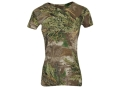 Realtree Girl Women&#39;s Redwood Crew T-Shirt Short Sleeve Cotton Realtree Max-1 Camo Large 36-38