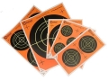 "Caldwell Orange Peel Targets Self-Adhesive Bullseye Variety Pack (4-4"", 1-8"", 1-5.5"", 2-3"" and 5-2"") Package of 5"