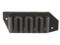 Product detail of TacStar SideSaddle Shotshell Ammunition Carrier 12 Gauge 4-Round Mossberg 500, 590, 600 Black
