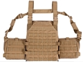 US Palm Desert Tracker Plate Carrier (DTPC) Series Soft Body Armor Level IIIA 500D Cordura Nylon