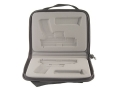 Springfield Armory XD Gear Pistol Gun Case with Memory Foam Springfield XD Service 4&quot; (Except 45 ACP) Nylon Black