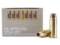 Product detail of Cor-Bon Self-Defense Ammunition 44 Special 165 Grain Jacketed Hollow Point Box of 20