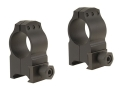"Warne 1"" Tactical Picatinny-Style Rings Matte High"