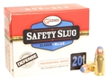 Glaser Blue Safety Slug Ammunition 357 Sig 80 Grain Safety Slug