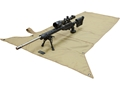 MidwayUSA Packable Shooting Mat Non Skid PVC Coated Polyester Coyote