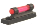 NECG Masterpiece Ramp Interchangeable Front Sight Steel with Red Fiber Optic Bead