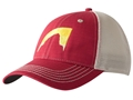 Mountain Khakis Sunset Peak Trucker Cap Cotton and Polyester Mesh Engine Red