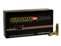 Ultramax Ammunition 38 Special 158 Grain Lead Semi-Wadcutter Box of 50