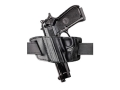 "Safariland 527 Belt Holster Left Hand Colt Python, Trooper, Ruger GP100, Speed Six, S&W K-Frame, Taurus 66, 669, 689 4"" Barrel Laminate Black"