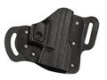 DeSantis Intimidator Belt Holster S&W Bodyguard 380 Kydex and Leather Black