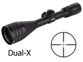 Product detail of Weaver 40/44 Series Rifle Scope 3.8-12x 44mm Adjustable Objective Dual-X Reticle Matte