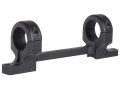 DNZ Products Game Reaper 1-Piece Scope Base with 1&quot; Integral Rings Howa 1500, Weatherby Vangaurd Long Action Matte High